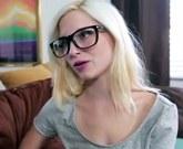 Skinny petite teen Piper Perri gets filled with hot cum