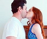 Slim redhead Dolly Little fuck and facial