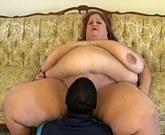 XXX Big Woman – SSBBW fucks with black man