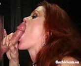 GloryHoleSecrets – Redhead Gilf swallows cum